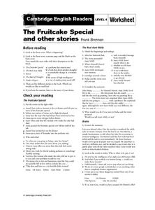 "Reading Guide- ""The Fruitcake Special and Other Stories,"" by Frank Brennen Lesson Plan"