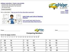 Comparing Numbers Interactive