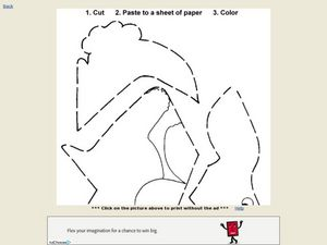 Cut and Paste Bunny Rabbit Worksheet