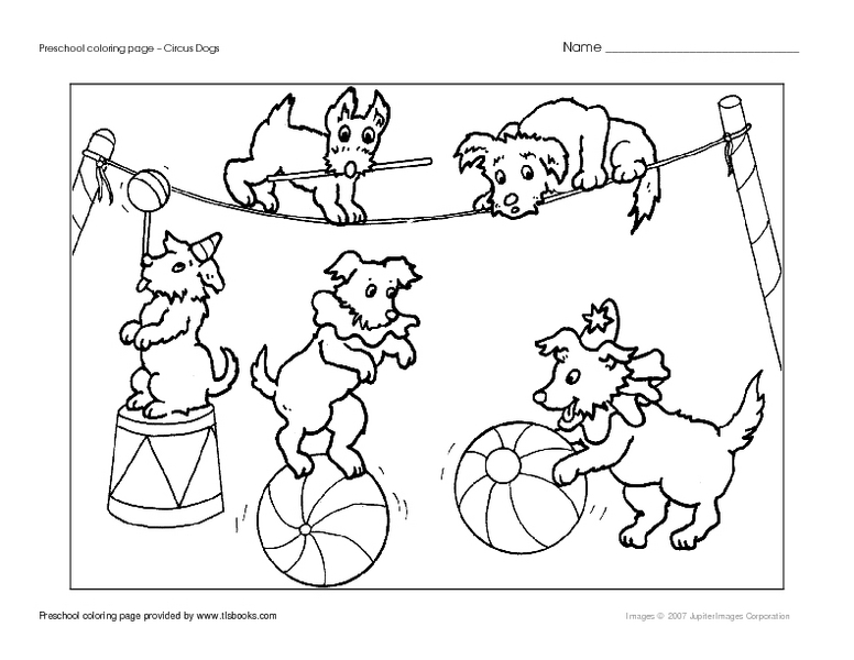 circus worksheets for preschoolers the best and most