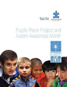 Puzzle Piece Project and Autism Awareness Month Lesson Plan