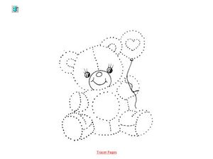 Bear Tracer Worksheet