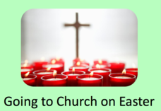 """Going to Church on Easter"" Social Story Presentation"