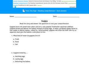 Guppy Worksheet