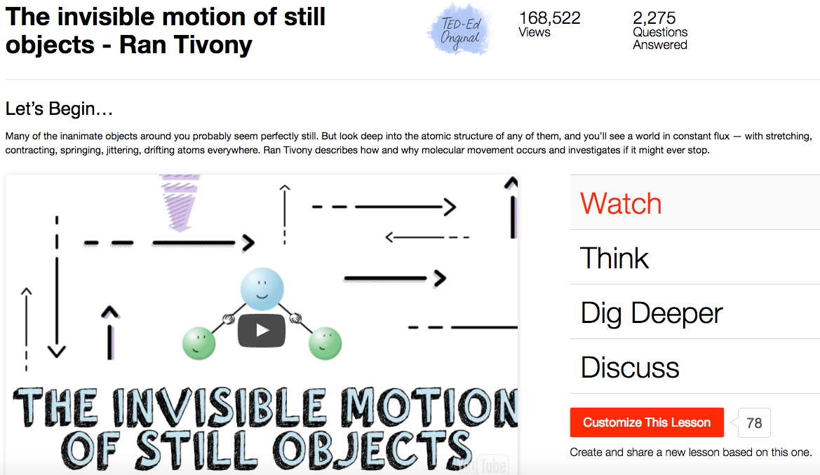 The Invisible Motion of Still Objects Video