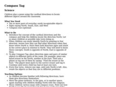 Compass Tag Lesson Plan