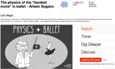 "The Physics of the ""Hardest Move"" in Ballet Video"