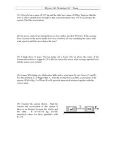Physics Free Body Diagram Worksheet - Sharebrowse