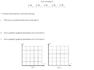 Unit 2 Worksheet 4-Motion Worksheet
