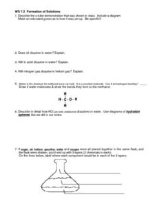 WS 7.2 Kinetic Theory-Temperature and Volume Lesson Plan