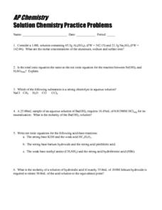 chemistry if8766 molarity solutions and answers