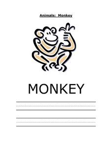 Animals: Monkey Worksheet