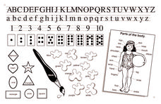 Kindergarten Worksheet Printables & Template