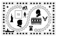 Americana Trivia Game Lesson Plan