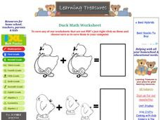Duck Math Worksheet