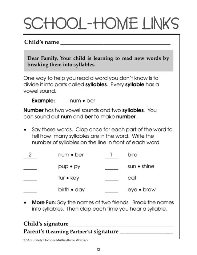Dividing Words Into Syllables Worksheets Pixelpaperskin – Syllables Worksheets