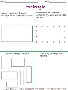 Rectangle Recognition 4 Worksheet