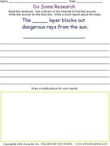 Short essay on Ozone layer depletion