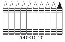 Color Lotto Printables & Template