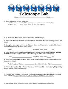 Telescope Lab Worksheet
