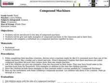 Compound Machines Lesson Plan