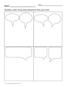 Comic Strips Worksheet