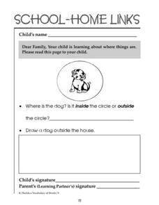 School-Home Links 72 Worksheet