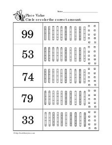 Place Value 13 Worksheet