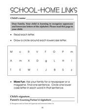 Identify Uppercase and Lowercase Letters Worksheet