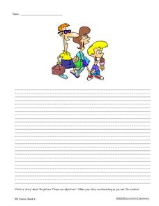 Writing Prompts with Pictures Worksheet