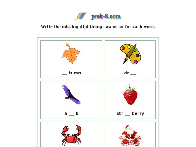 Diphthongs Lesson Plans Worksheets Reviewed by Teachers – Diphthong Worksheets