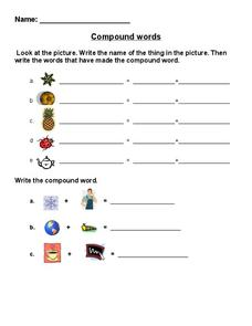 Compound Words Worksheet