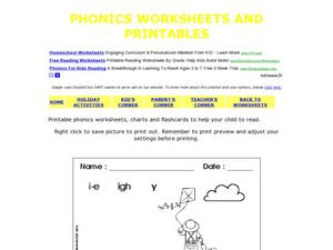 Printable Phonics Worksheet Worksheet