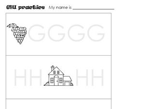 GHI Practice Worksheet