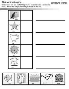 Compound Words 2 Worksheet