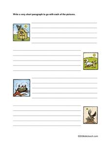 Paragraph Practice Worksheet