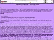 Comprehension Lesson Plan