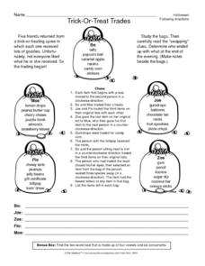 Trick-Or-Treat Trades Lesson Plan