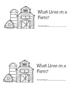 What Lives on a Farm? Worksheet