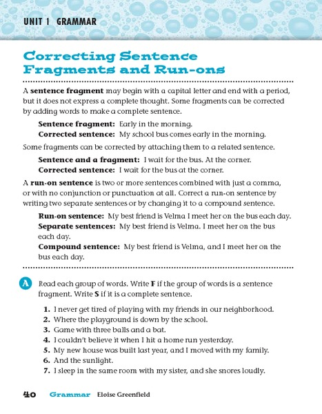 Run On Sentence Games Lesson Plans Worksheets Reviewed