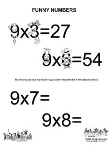 Funny Numbers Worksheet