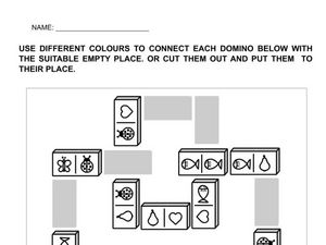 Domino Matching Worksheet