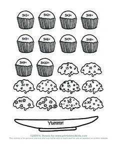 Cupcake Match Worksheet
