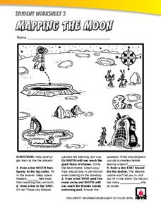 Mapping the Moon Worksheet