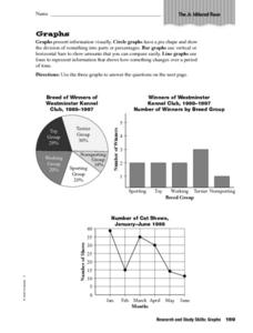 Graphs - Presenting Story Information Worksheet