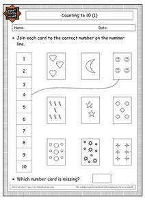 Counting to 10 (1) Worksheet
