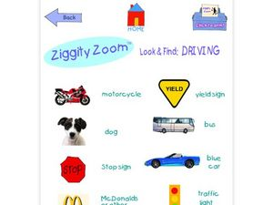 Look and Find Driving Worksheet