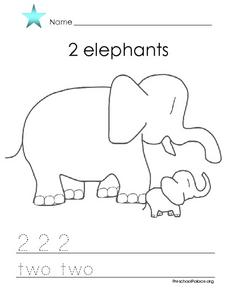 2 Elephants Lesson Plan