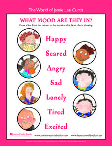 What Mood are They in? Worksheet