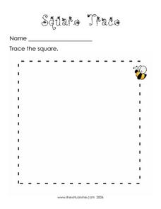 Square Trace Worksheet